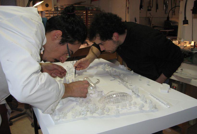 Pierre Alexandre et Matthieu sont concentrés