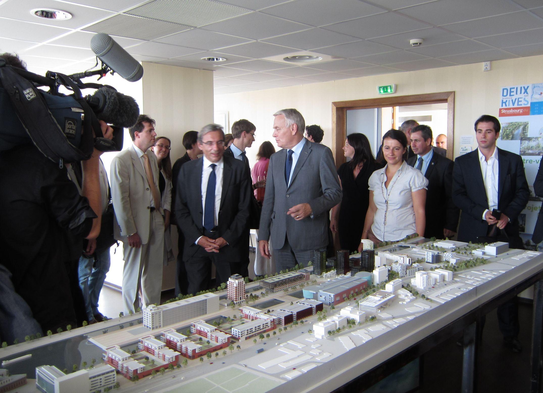 Inauguration ZAC Danube